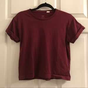 Garnet crop top from Pacsun